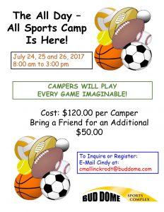 All Day All Sports Camp